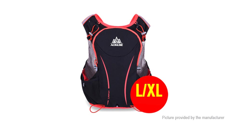 70f64438b7 $29.62 AONIJIE 5L Outdoor Sports Running Vest Backpack Hydration ...