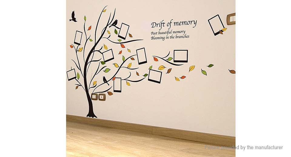Memory Tree Styled Removable Wall Sticker Home Decor