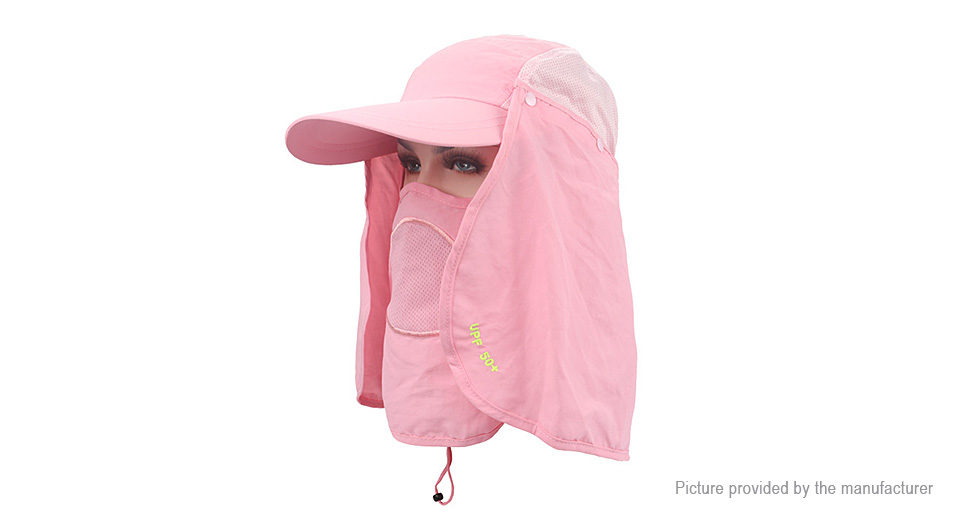 Product Image  unisex-outdoor-protection-uv-proof-windproof. Unisex Outdoor  Protection UV-proof Windproof Fishing Cap Neck Face Flap Hat ... b10c5c6a76bb