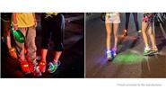 3-Mode LED Light Up Luminous Party Hip-hop Dancing Cycling Shoelace (Pair)