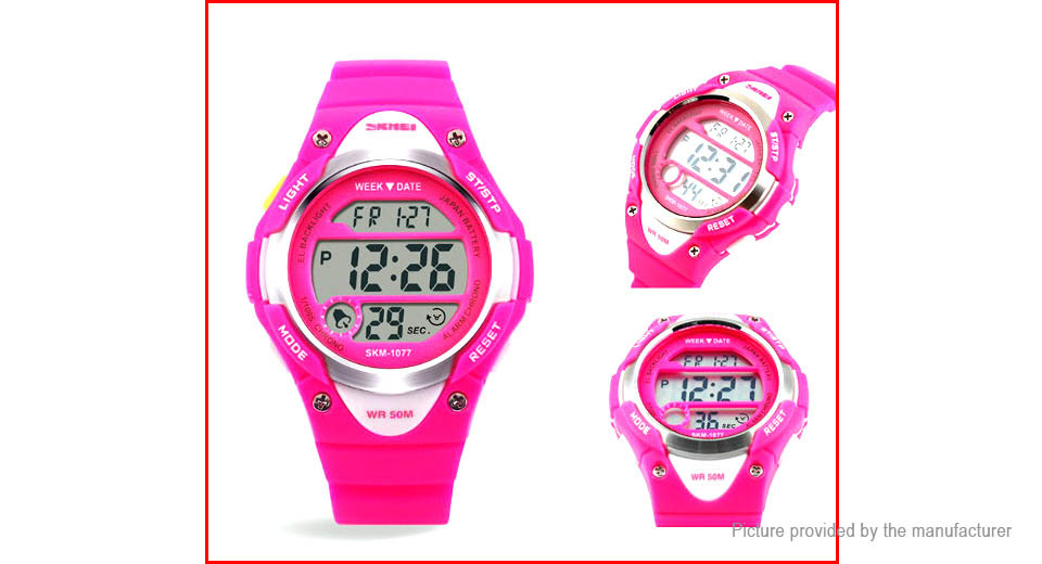 Authentic Skmei 1077 Children's Sports LED Digital Wrist Watch