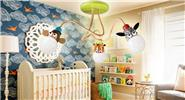 Creative Animal Chandelier Ceiling Light Lamp Cartoon Children Lamp