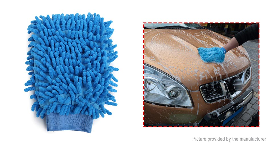 Product Image: chenille-microfiber-double-side-car-washing-glove