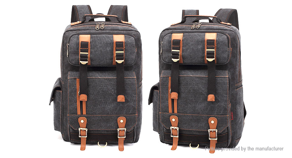 7460645d3f  36.52 Authentic KAUKKO FS261 Men s Casual Style Canvas Backpack ...