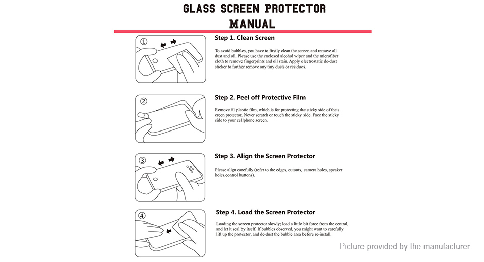Hat.Prince 3D Tempered Glass Screen Protector for Huawei Honor 8