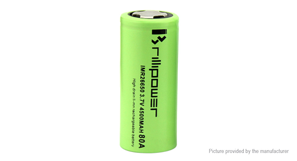 Product Image: brillipower-imr-26650-3-7v-4500mah-rechargeable