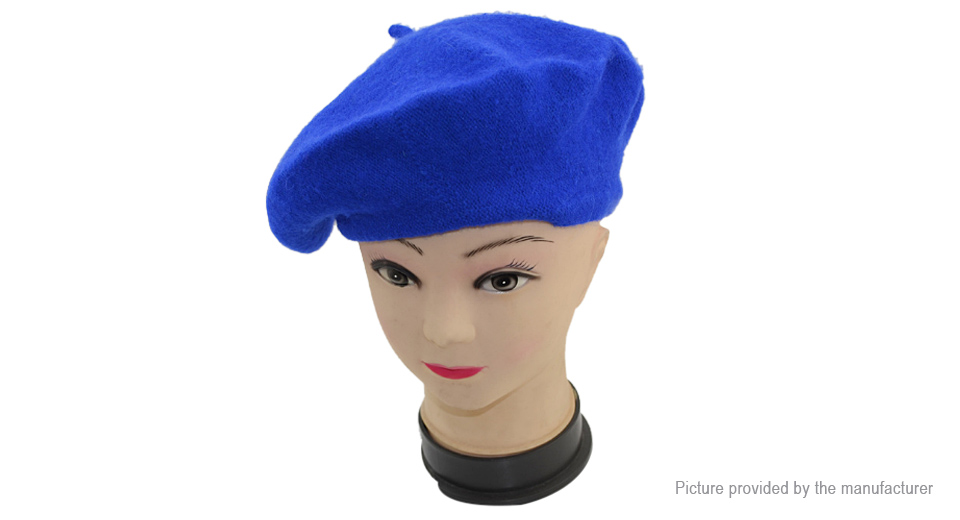 Unisex Vintage French Style Wool Painter Artist Beret Hat Cap