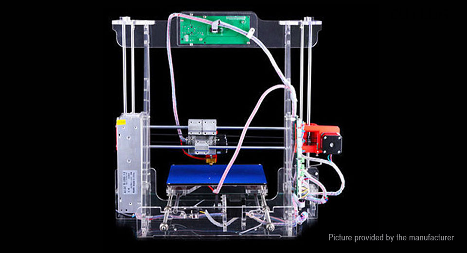 6906705 1 $151 95 authentic tronxy acrylic 3dcstar p802 mhs 3d printer kit  at soozxer.org