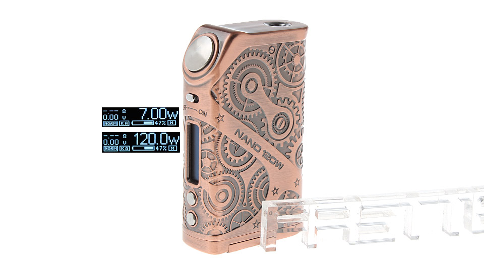 Product Image: authentic-tesla-nano-120w-vw-apv-box-mod