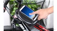 DUUTI Bicycle Frame Front Tube Pannier Bag Touch Screen Phone Bag