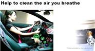 Car Air Ionic Purifier Cleaner Freshener Portable Oxygen Bar