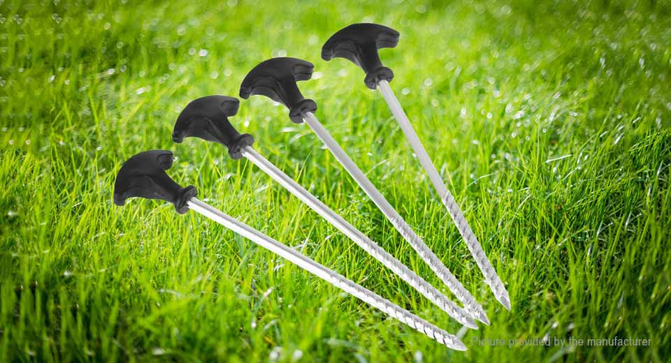 ... BRS BRS-P1 Outdoor C&ing Spiral Screw Tent Stakes Nail Peg (12-Pack ... & $26.19 BRS BRS-P1 Outdoor Camping Spiral Screw Tent Stakes Nail Peg ...