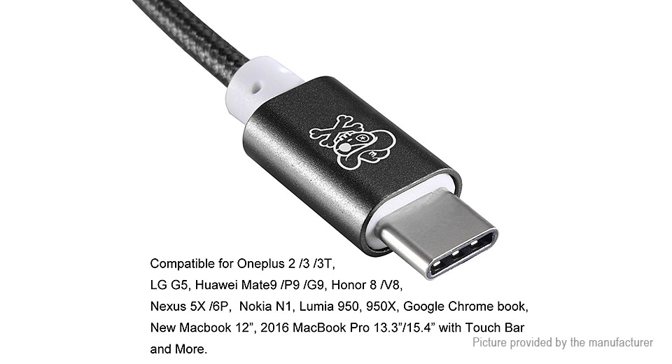 Hat.Prince USB-C to 3.5mm Converter Braided Cable Adapter
