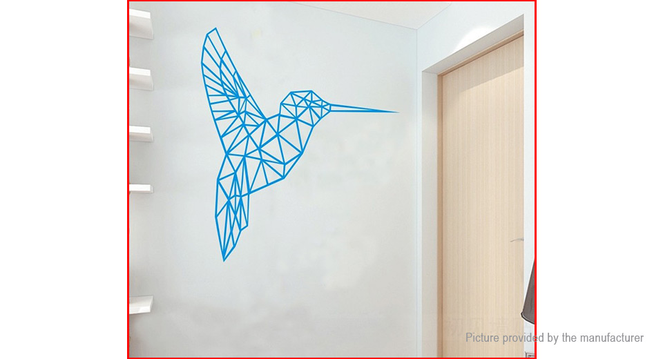 Geometric Bird Styled Removable Wall Sticker Home Decor