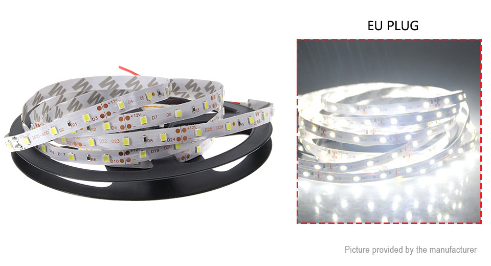 Product Image: 60w-300-2835-pure-white-light-led-light-strip-5m