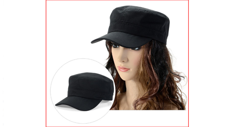 Unisex Outdoor Breathable Flat Top Baseball Cap Sun Hat