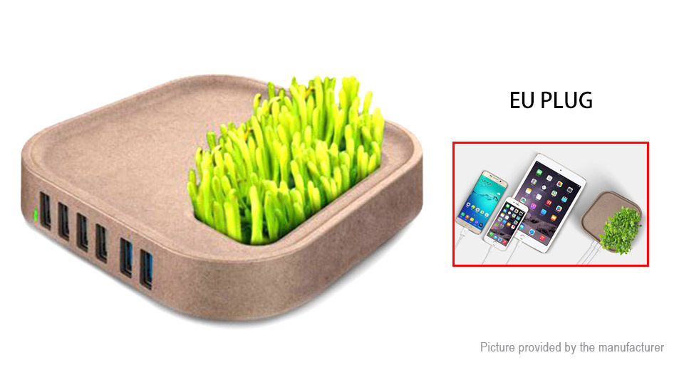 Product Image: idmix-dm-ch02-potted-plant-6-port-usb-charger-ac