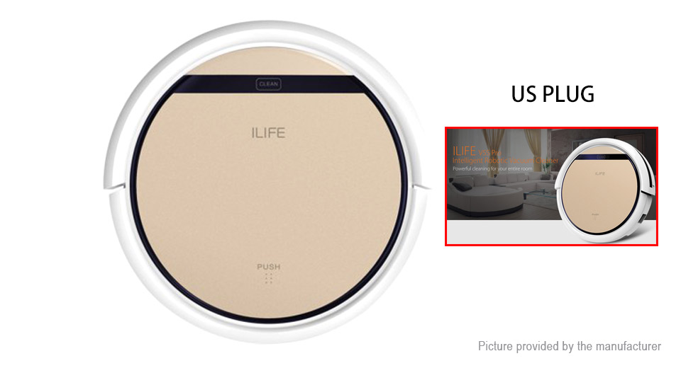 Authentic ILIFE V5S Pro Smart Robotic Vacuum Cleaner