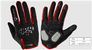 ROCKBROS Unisex Anti-slip Full Finger Touch Screen Cycling Gloves (Size XL)