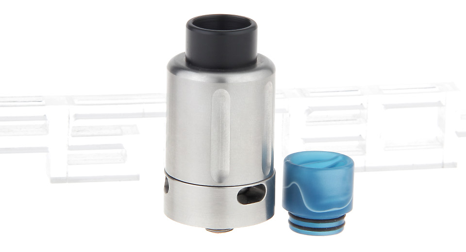 $8.27 TVL V2 Styled RDA Rebuildable Dripping Atomizer - stainless steel / 24.8mm diameter / random acrylic drip tip colors at FastTech - Great Gadgets, Great Prices
