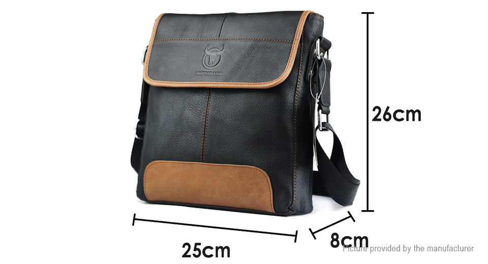 $33.45 BULLCAPTAIN DJ031 Men's Briefcase Casual Messenger Bag ...
