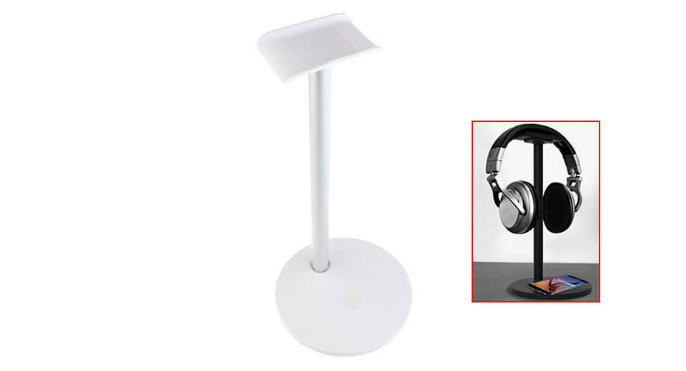Product Image: new-bee-nb-z2-2-in-1-qi-wireless-charger-earphone
