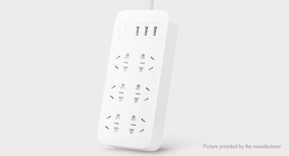 Product Image: authentic-xiaomi-cxb6-1qm-6-outlet-power-strip-cn