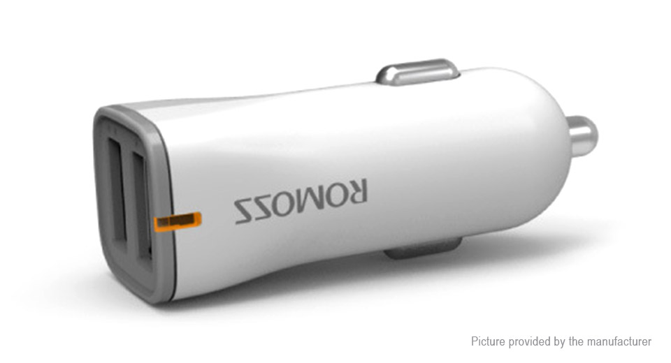 Product Image: romoss-au17-dual-usb-car-cigarette-lighter-charger