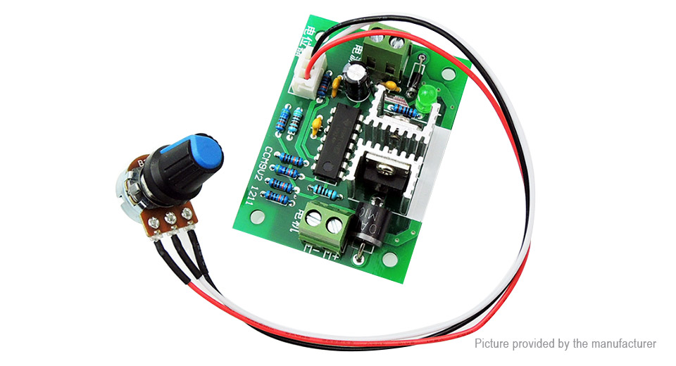 $4.27 CCM9 12-24V 6A PWM Controller DC Motor Speed Controller at ...