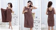Super Soft Wearable Microfiber Bath Towel Bathrobe Wrap Skirt
