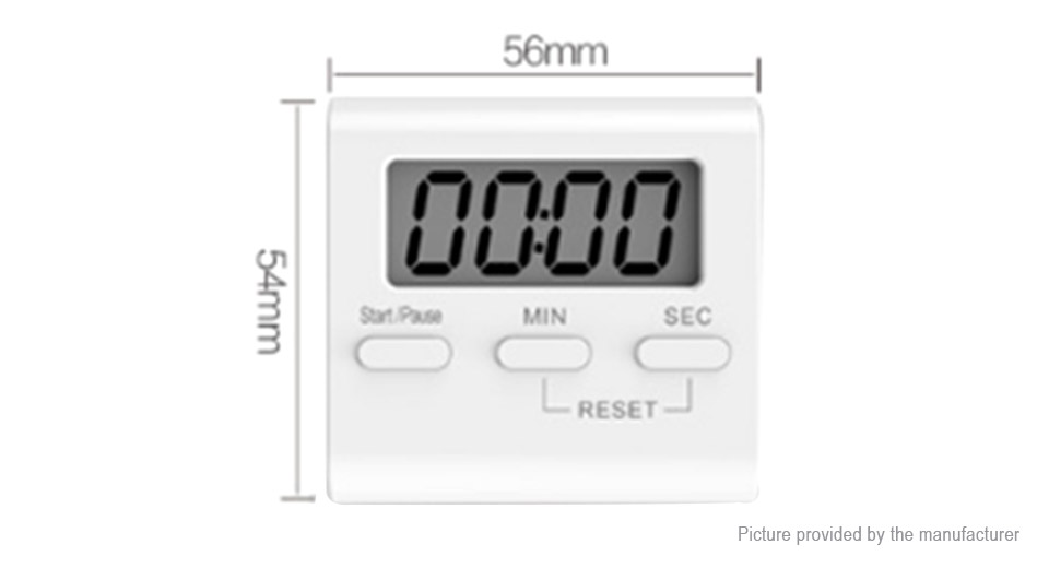 LCD Magnetic Digital Kitchen Cooking Timer