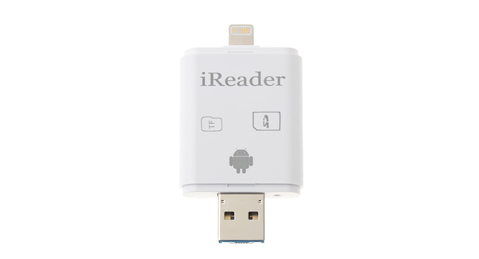 Product Image: ireader-8-pin-to-usb-3-0-microsd-sd-card-reader
