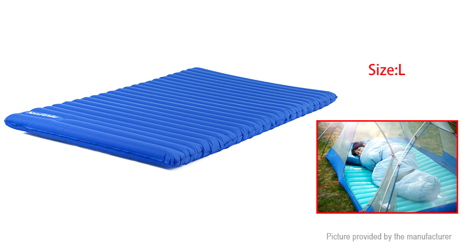 Naturehike outdoor camping inflatable sleeping pad for Best mattress for lightweight person