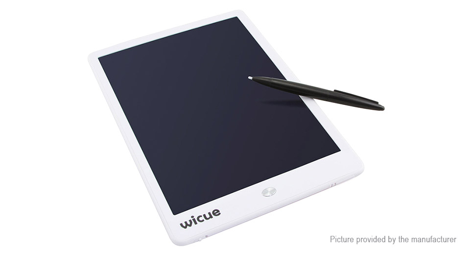 "Wicue WIB10 10"" LCD E-Note Paperless Writing Tablet Digital Drawing Pad"