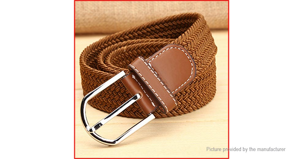Product Image: unisex-casual-braided-elastic-stretch-waist-belt