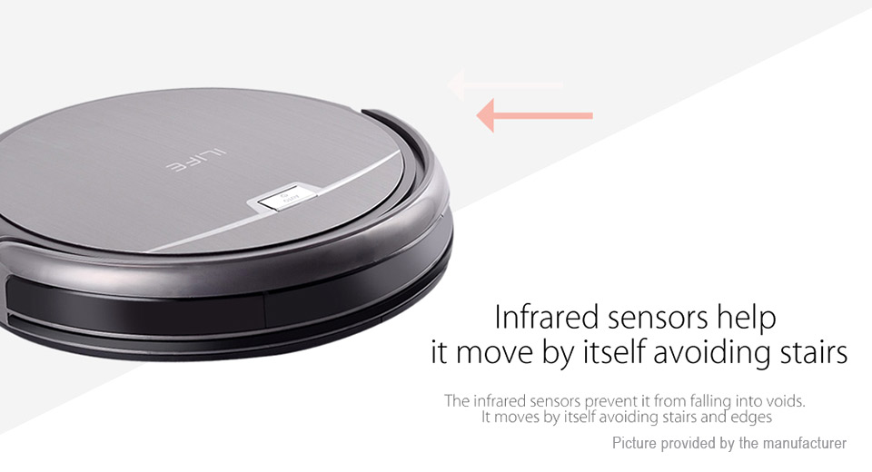Authentic ILIFE A4S Smart Robotic Vacuum Cleaner (US)