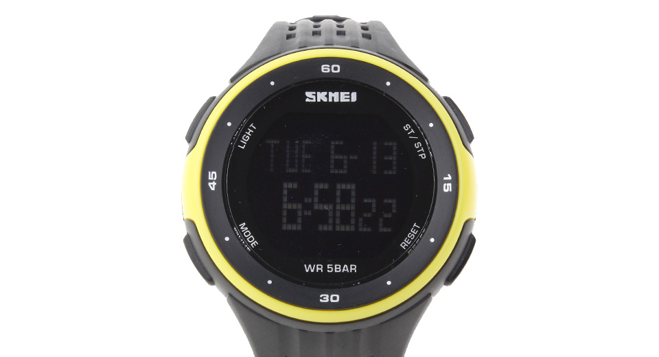Authentic Skmei 1219 Men's LED Digital Sports Wrist Watch