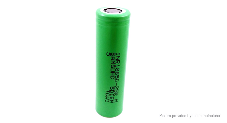 Product Image: inr-18650-3-6v-2500mah-rechargeable-li-ion-battery