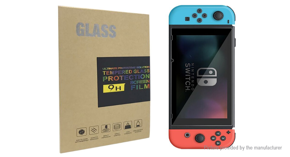Product Image: tempered-glass-film-screen-protector-for-nintendo