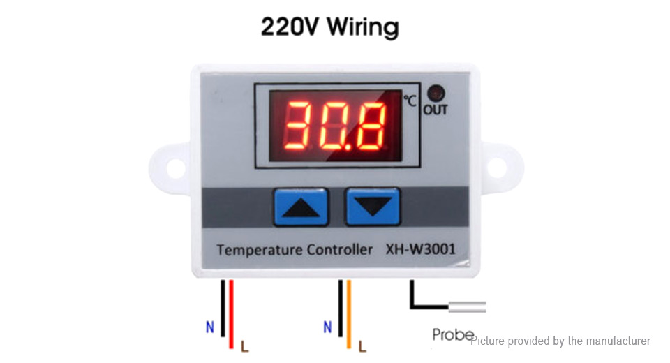 Diagram Controller Temperature Wiring Xh W on