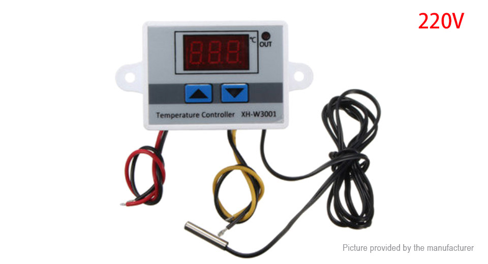 $4.96 XH-W3001 220V Digital LED Temperature Controller ... on