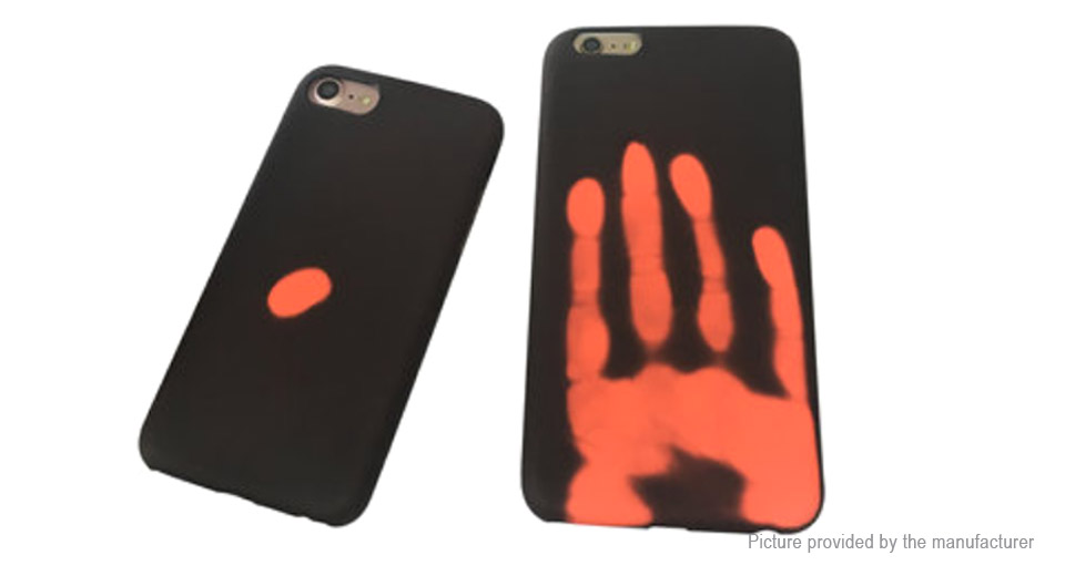 buy popular c15e4 542e3 $2.23 Thermal Sensor Protective PC Back Cover Case for iPhone 7 at FastTech  - Worldwide Free Shipping