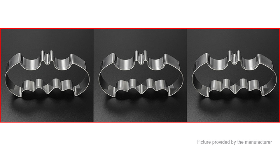 Fondant Cookies Biscuit Cutter Mould Bat Cake Mold 3 Pack