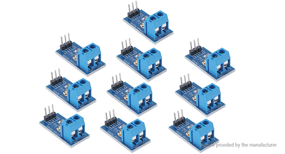 Voltage Sensor Module for Arduino (10-Pack)