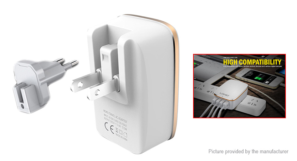 Product Image: authentic-ldnio-a3304-4-port-usb-ac-charger-power