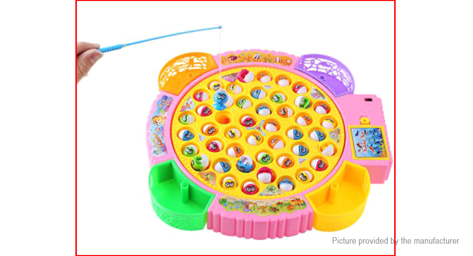 $17.55 Kids Electronic Fishing Toy Parent-Child Funny Game - 45 fish ...