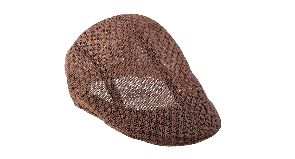 Product Image: unisex-summer-breathable-mesh-beret-cap-flat