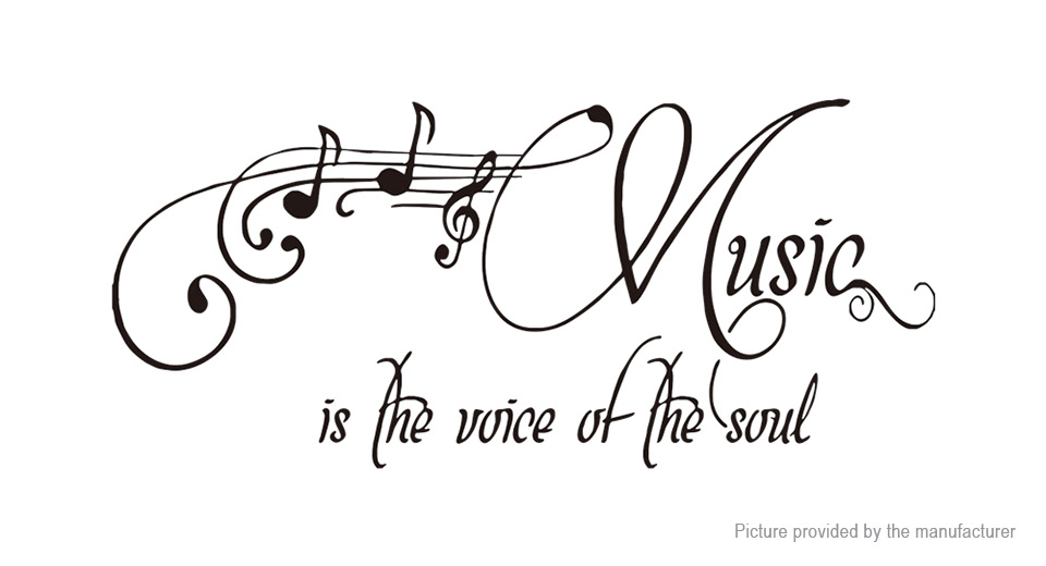 Music Styled Wall Sticker Home Decor
