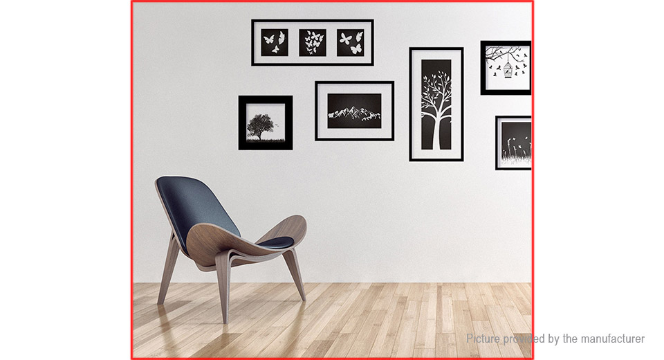 Art Photo Frame Styled Wall Sticker Home Decor
