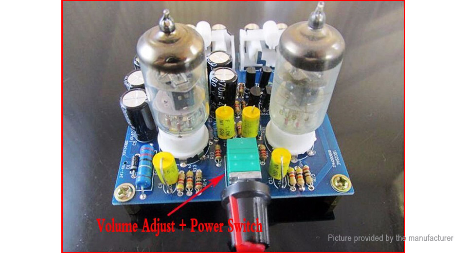 6J1 Tube Pre Amp Amplifier Board DIY Kit